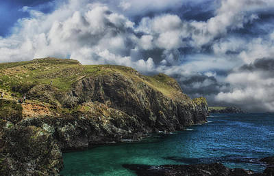 Cornish Wall Art - Photograph - Storms Brewing by Martin Newman