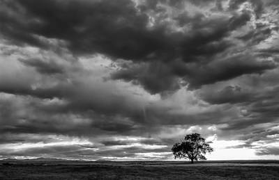 Storms Clouds Passing Art Print by Monte Stevens