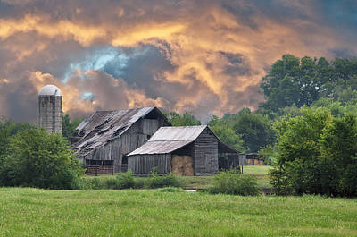 Country Scene Photograph - Storm's Coming I by Jan Amiss Photography