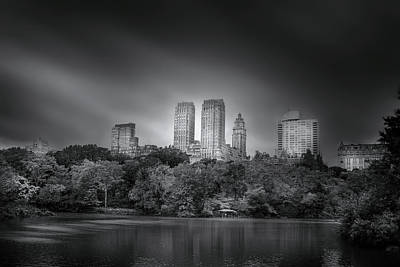 Photograph - Storms In Central Park  by Mark Andrew Thomas