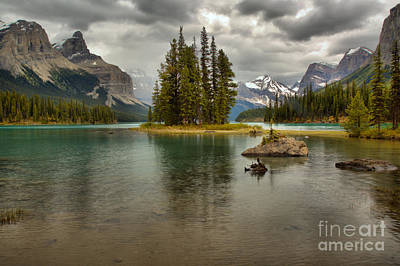 Photograph - Storms Over Spirit Island by Adam Jewell