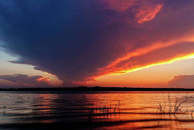 Photograph - Storms Over The Lake by Doug Long