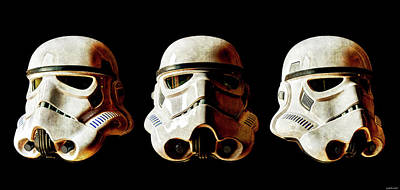 Photograph - Stormtrooper 1-3 Weathered by Weston Westmoreland