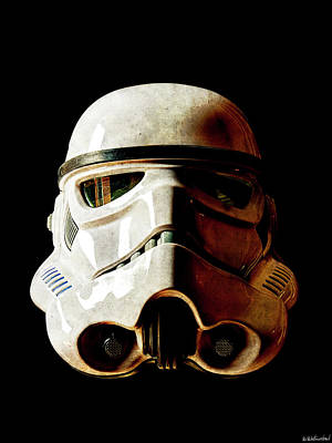 Photograph - Stormtrooper 1 Weathered by Weston Westmoreland