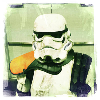 Photograph - Stormtrooper 2 by Nina Prommer