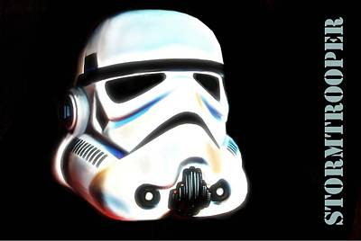 Stormtrooper Head Original by HQ Photo