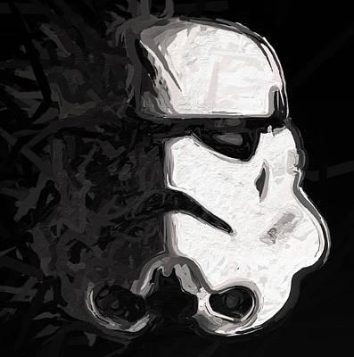 Stormtrooper V 1 Art Print