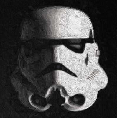 Stormtrooper V2 Art Print