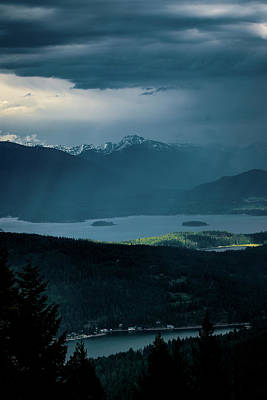 Photograph - Stormy Afternoon by Albert Seger