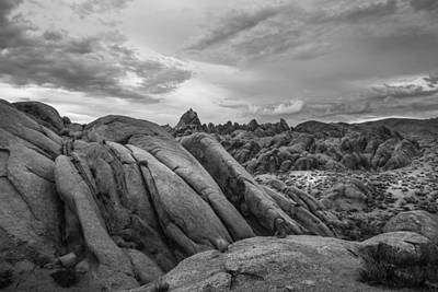 Photograph - Stormy Afternoon At Alabama Hills by Dusty Wynne