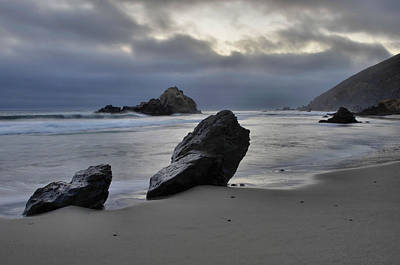 Pfeiffer Beach Photograph - Stormy Afternoon - Big Sur by Stephen  Vecchiotti