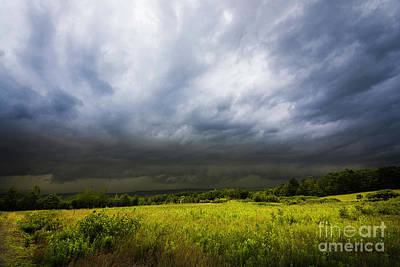 Photograph - Stormy Afternoon by Mim White