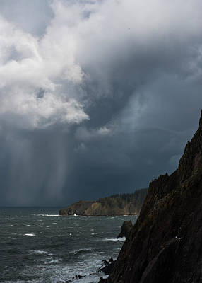 Photograph - Stormy At Cape Falcon by Robert Potts
