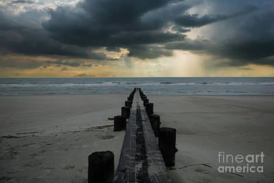 Photograph - Stormy Atlantic by Dale Powell