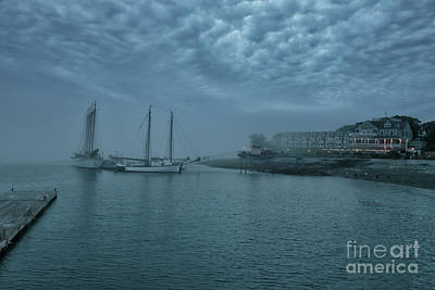 Photograph - Stormy Bar Harbor Night by Elizabeth Dow