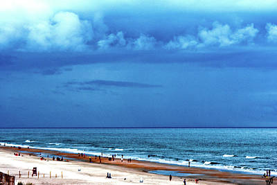 Photograph - Stormy Beach Day by Gina O'Brien