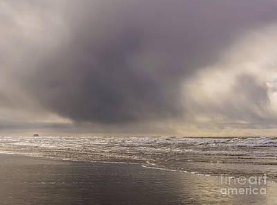 Beach Photograph - Stormy Beach by Marv Vandehey