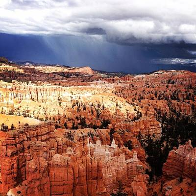 Ollivrosa Wall Art - Photograph - Stormy Bryce Canyon by Amy Sorvillo