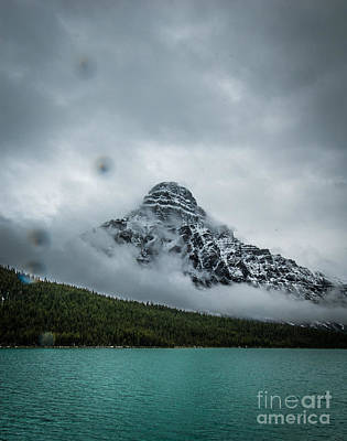 Photograph - Stormy Canadian Rockies by Blake Webster