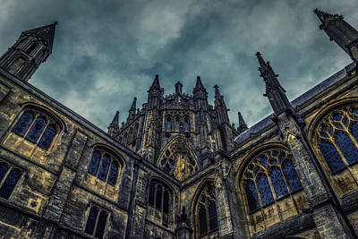 Photograph - Stormy Cathedral by James Billings