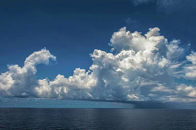 Photograph - Stormy Clouds At S. China Sea by Judith Barath