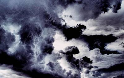 Photograph - Stormy Clouds by Dora Hathazi Mendes