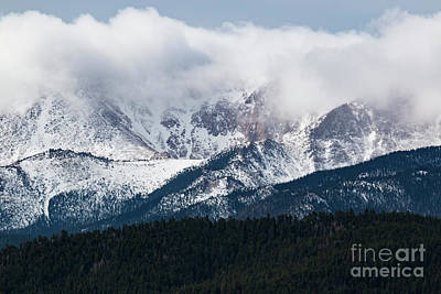 Photograph - Stormy Clouds On Pikes Peak by Steve Krull
