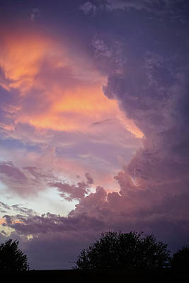 Photograph - Stormy Clouds Over Texas by Ken Stanback
