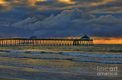 Photograph - Stormy Clouds Over The Pacific Ocean by Sam Antonio Photography