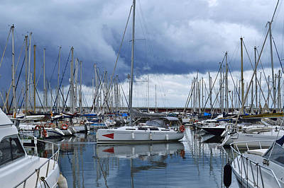 Photograph - Stormy Marina by Marek Stepan