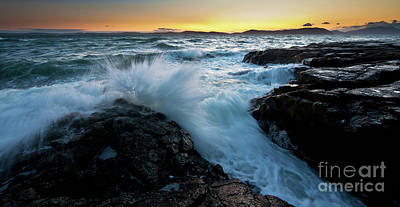 Anacortes Photograph - Stormy Coast by Mike Reid
