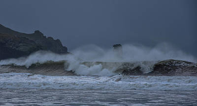 Photograph - Stormy Day At Doonsheane by Barbara Walsh