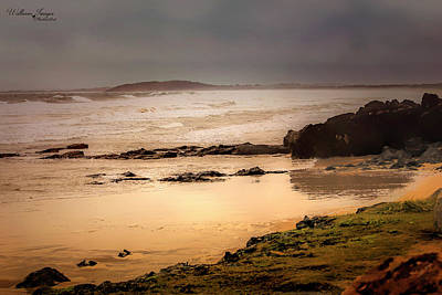 Photograph - Stormy Day At Gallows Beach by Wallaroo Images