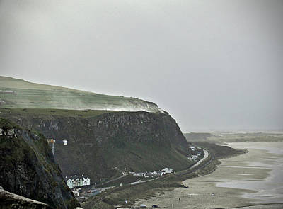 Photograph - Stormy Day In Downhill by Colin Clarke