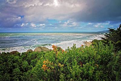 Photograph - Stormy Day In Monterey by Lynn Bauer