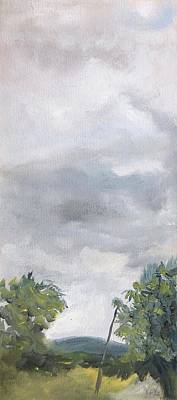 Wall Art - Painting - Stormy Day by Katherine Farrell