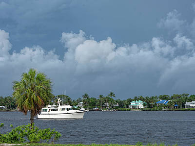 Photograph - Stormy Day On The Intercoastal by William Tasker