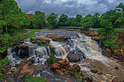Photograph - Stormy Falls by Willie Harper