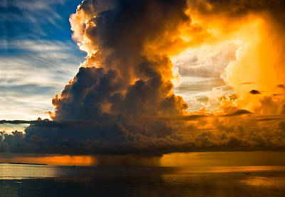 Photograph - Stormy Florida Keys by Ginger Wakem