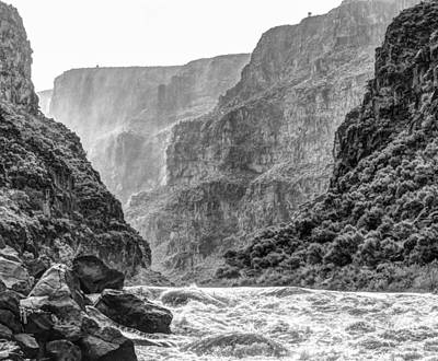 Photograph - Stormy Gorge  by Britt Runyon
