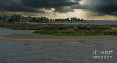 Photograph - Stormy Island Life by Dale Powell