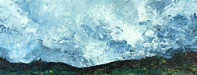 Painting - Stormy by Jane Autry