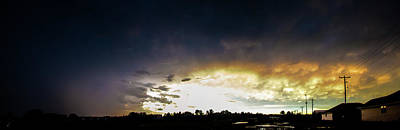 Photograph - Stormy July Nebraska Sunset 001 by NebraskaSC