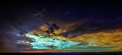 Photograph - Stormy July Nebraska Sunset 005 by NebraskaSC