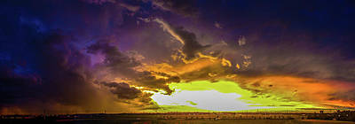 Photograph - Stormy July Nebraska Sunset 008 by NebraskaSC