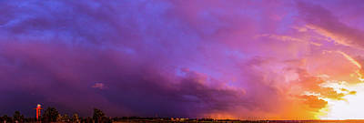 Photograph - Stormy July Nebraska Sunset 009 by NebraskaSC