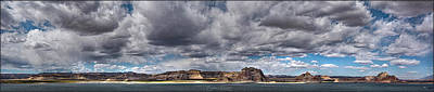 Photograph - Stormy Lake Powell by Erika Fawcett