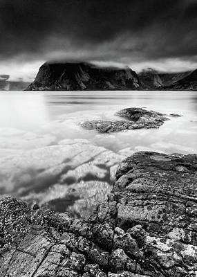 Photograph - Stormy Lofoten by Alex Conu