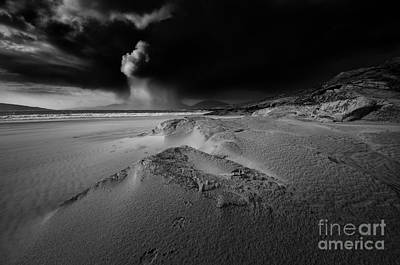 Isle Of Harris Wall Art - Photograph - Stormy Luskentyre by Smart Aviation