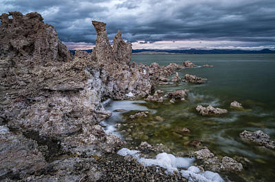 Photograph - Stormy Mono Lake by Cat Connor